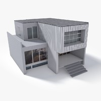 Lowpoly East Europe House 3