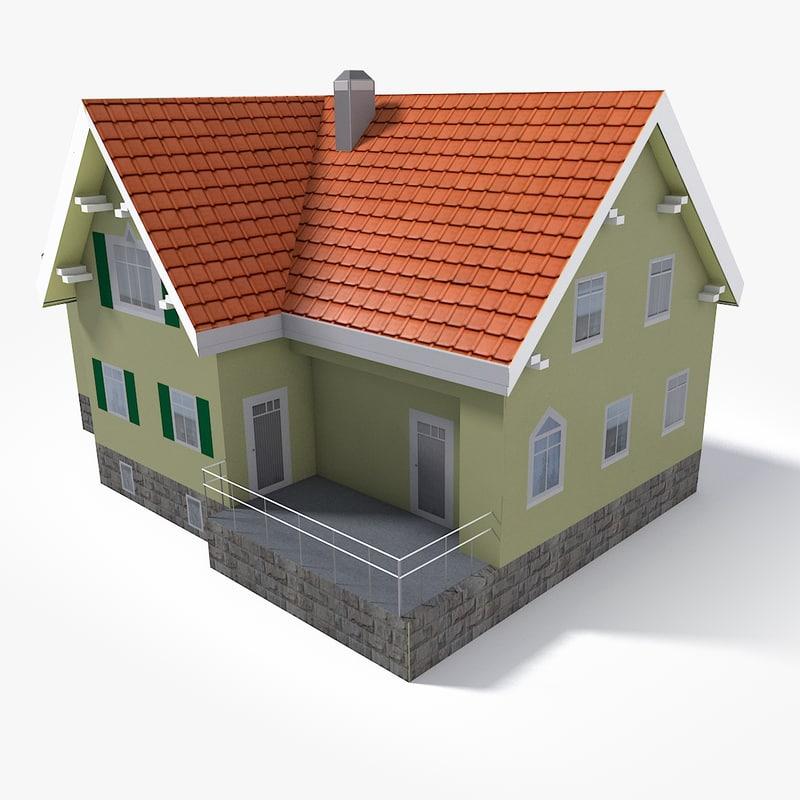 east europe house 3D model
