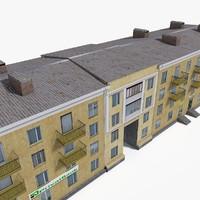 3D east europe building 2