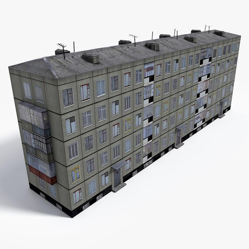east europe building model