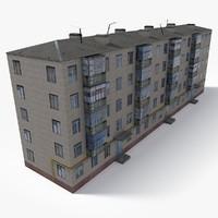3D building east europe