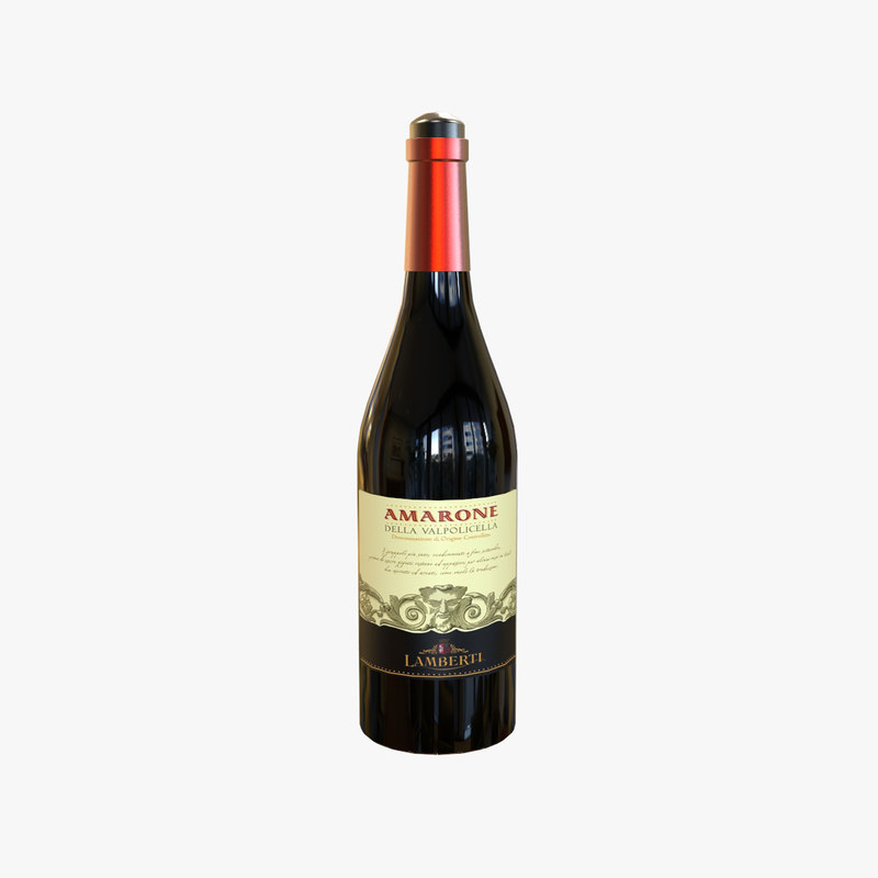 wine bottle model