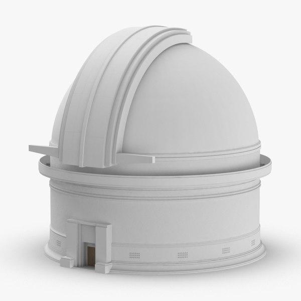 observatory---closed 3D model