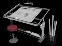 drawing table 3D
