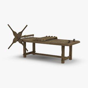 torture-rack model