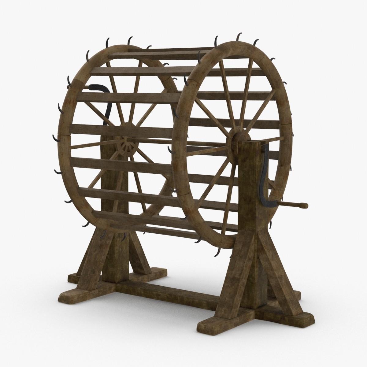 breaking-wheel 3D model