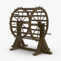 breaking-wheel 3D model