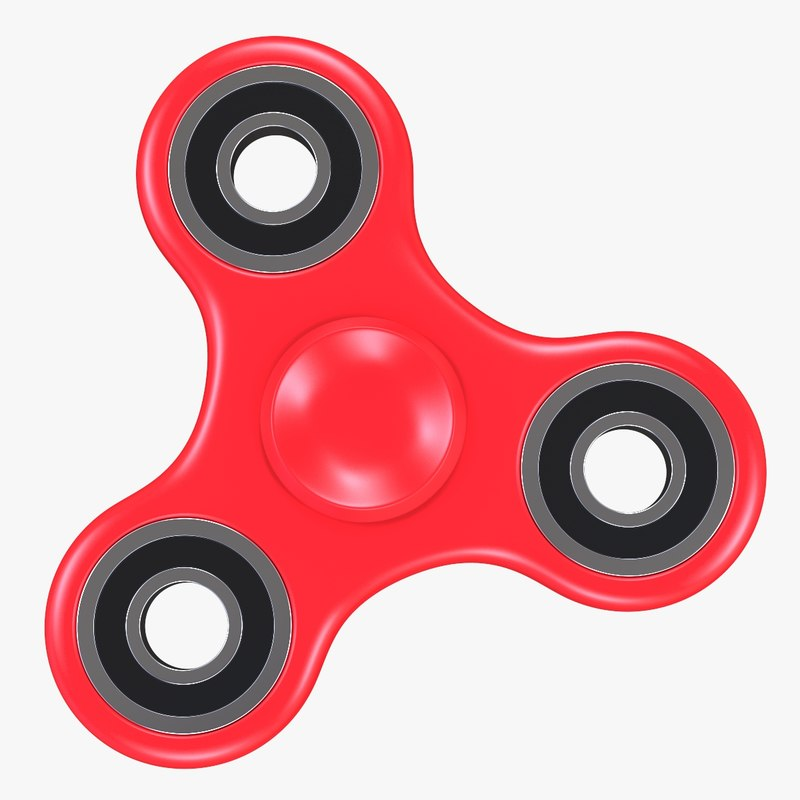 3D hand spinner toy