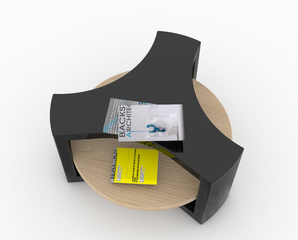 y table 3D model