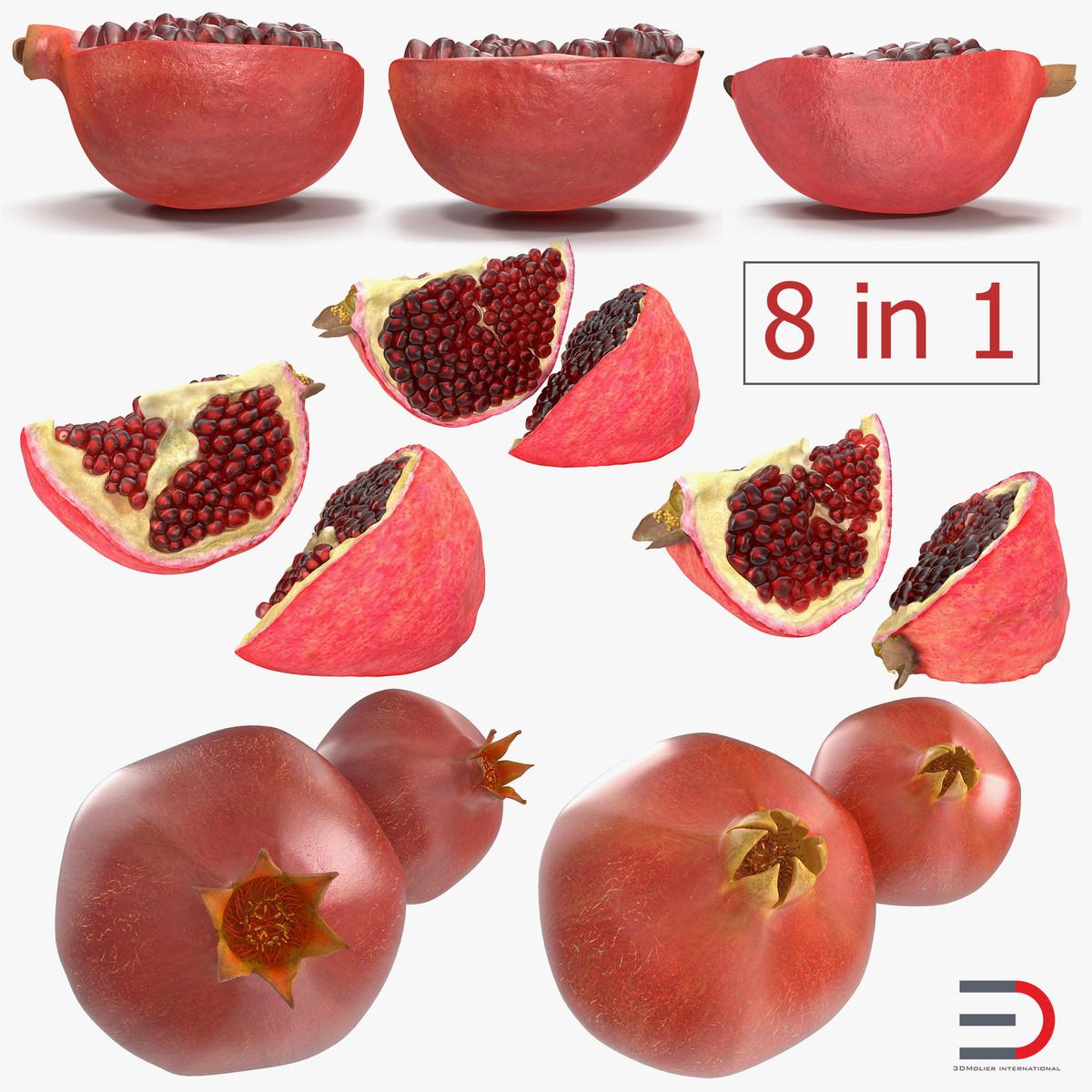 pomegranate 2 3D