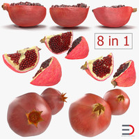 pomegranate 2 3D