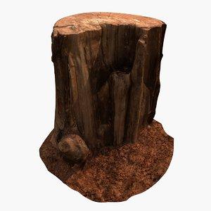 old stump 3D