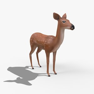 3D rigged model
