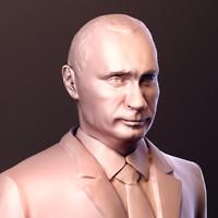 3D model putin