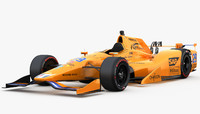 indycar honda indy 500 3D model