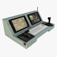 uav control console 3D model