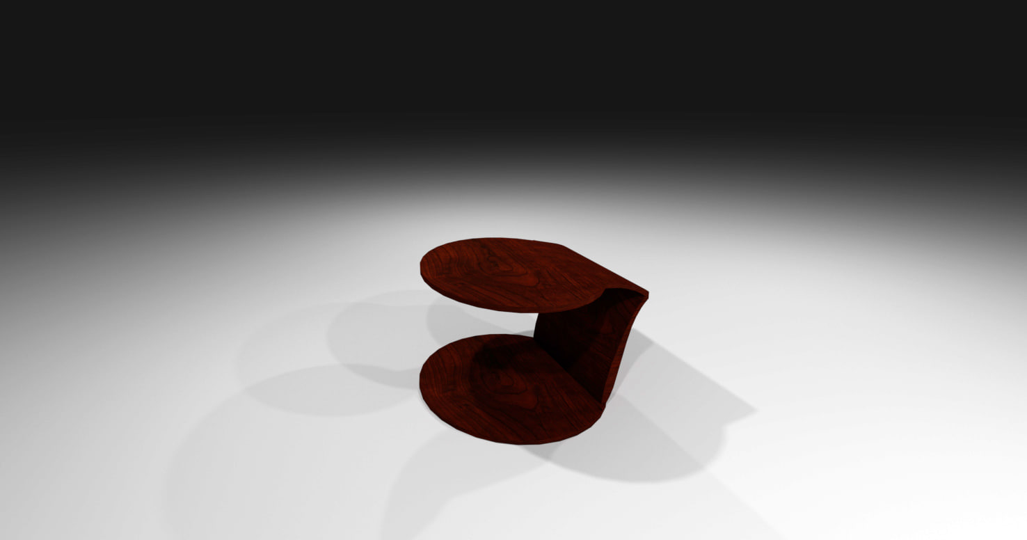 laurian table 3D model