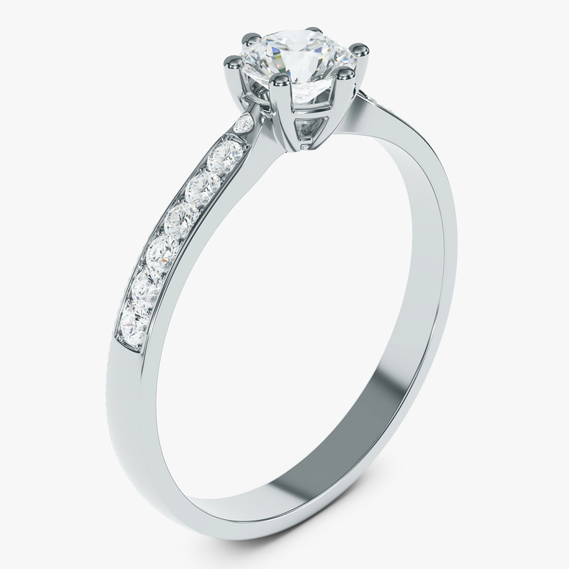 diamond ring 3D