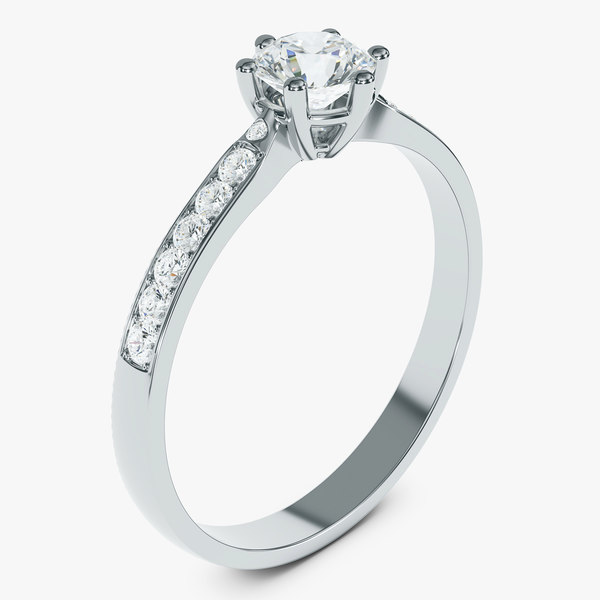 diamond ring 3D