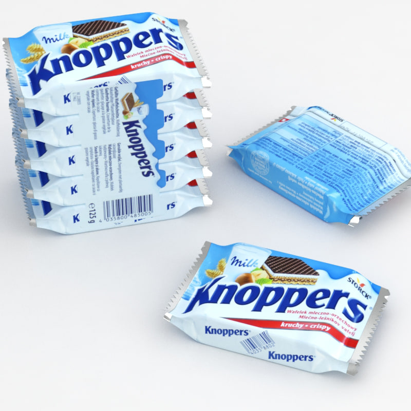 knoppers 5-pack model