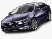3D buick regal sportback model