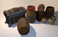 pack containers model