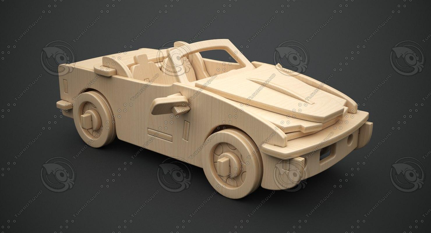 3D model cabriolet b-740i