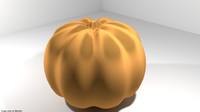 fruit mediterranean pumpkin 3D model