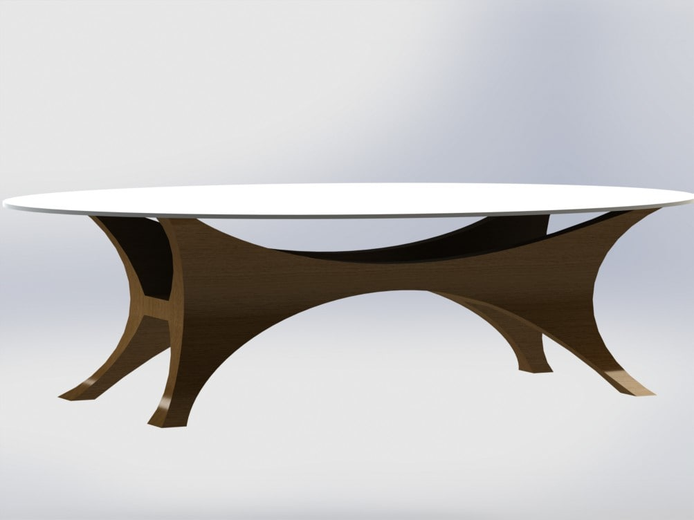 3D table davinchi model
