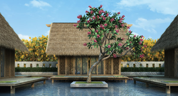 flower 10 tree model