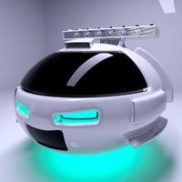 3D air robot