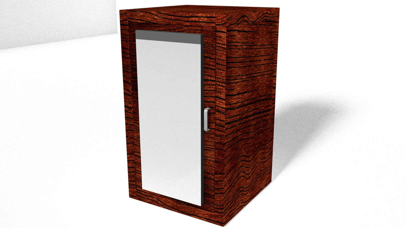 cupboard mirror 3D