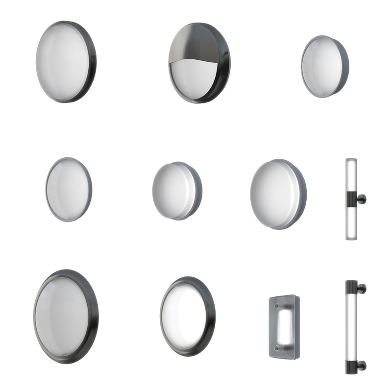 3D walllight pack lighting