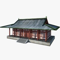 Chinese Palace Low Poly 4