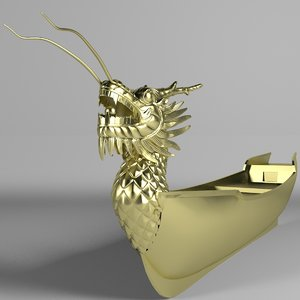 ship dragon 3D model