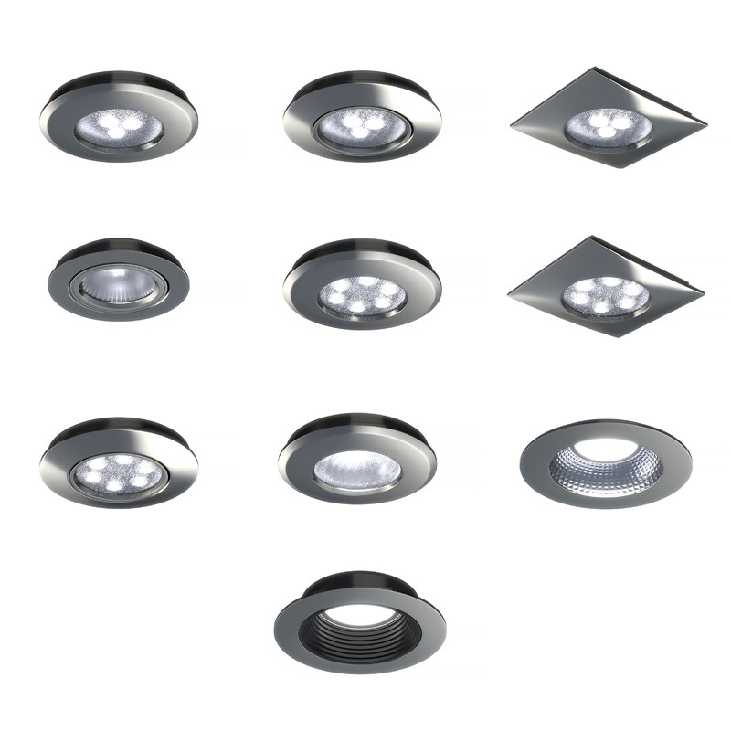 downlight led pack lighting 3D model