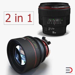3D canon lens
