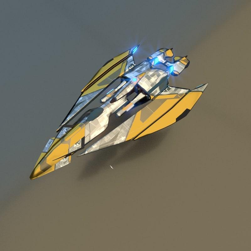 3D gunship