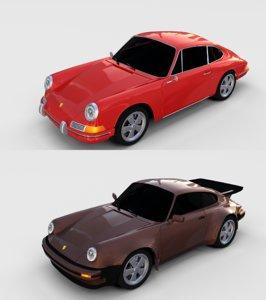 3D model pack porsche 911