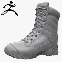 Original SWAT Tactical Boots Zbrush