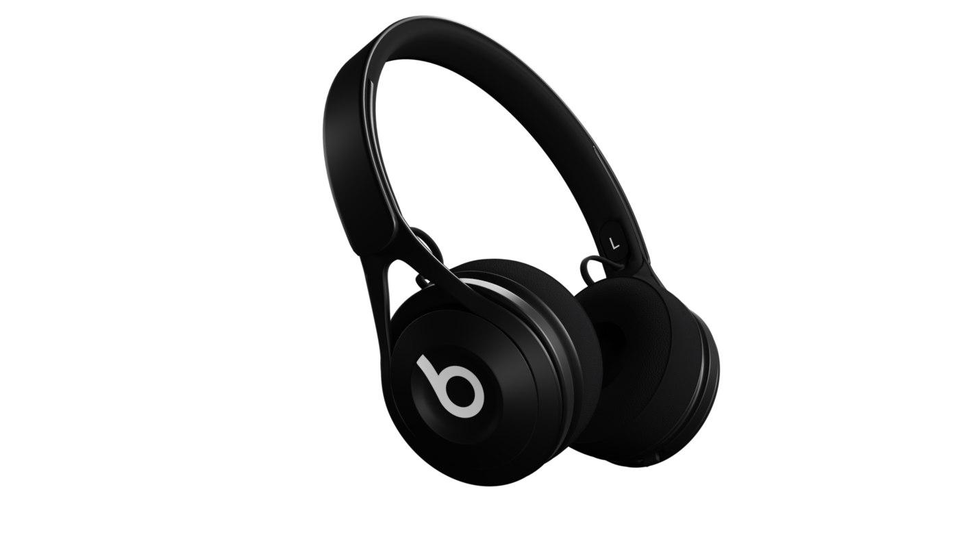 beats ep headphones 3D model