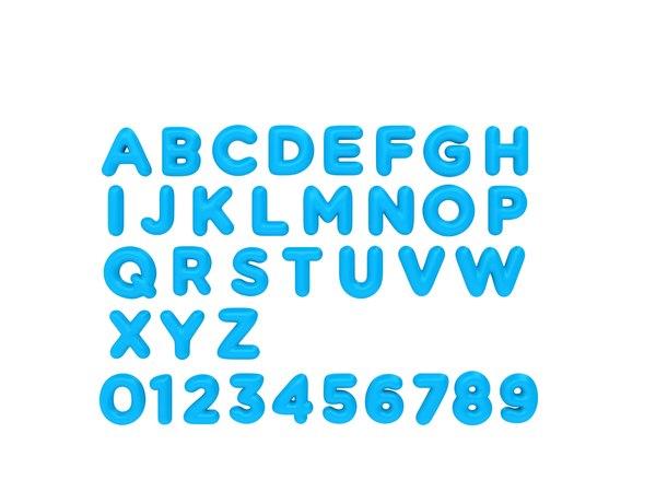3D cartoon font