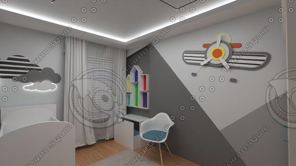 baby room design model