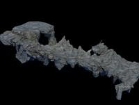 stone mountain mount 3D model