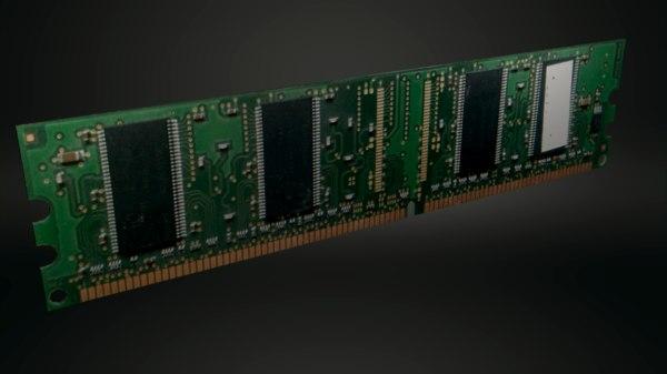 pc ram 3D model