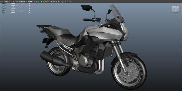 kawasaki versys 2012 3D