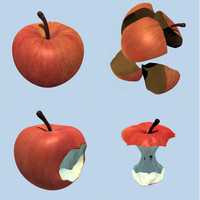 red apples model