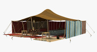 3D berber tent 2