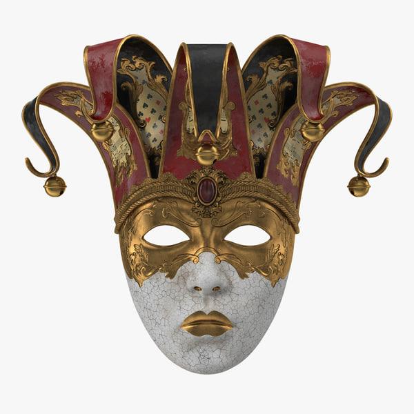 3D carnival mask