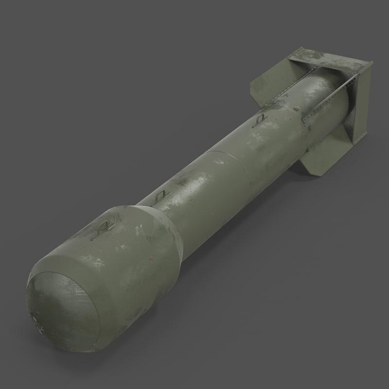 3D man nuclear bomb